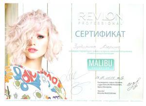 Сертификат Зудилина
